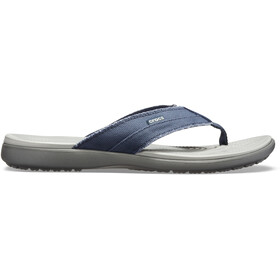 Crocs Santa Cruz sandaalit Miehet, navy/light grey